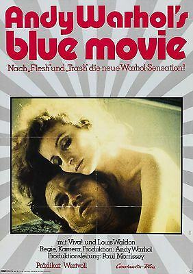 $8.60 • Buy BLUE MOVIE Movie Poster Andy Warhol Art House Drugs Sex
