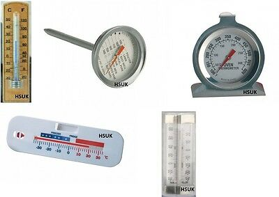 Wall Mounting - Meat Oven Fridge Or Freezer Thermometer Poultry Temperature Dial • 7.95£