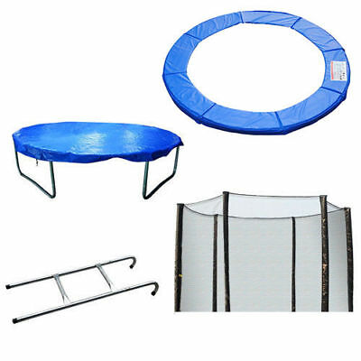 £36.99 • Buy Trampoline Safety Pads Pading Net Rain Cove Ladder 8/10/12/13/14 FT