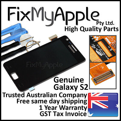 AU54.95 • Buy Samsung Galaxy S II S2 I9100 LCD Touch Screen Digitizer Display Assembly Black