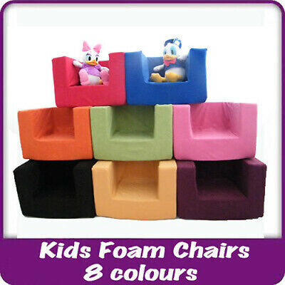 Kids Children's Comfy Chair Toddlers Foam Armchair Boys Girls Seating Seat • 24.97£