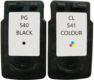 Refilled Ink For Canon PG-540 Black + CL-541 Colour Cartridges MG2150 MG3150 • 31.84£