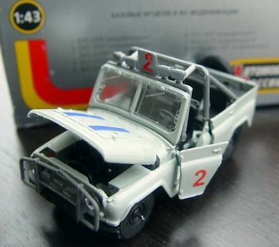 AU64.35 • Buy RUSSIAN OFF-ROAD 4x4 UAZ 469 VERSION FOR AFRICA - MODEL 1/43