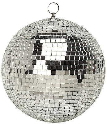 $588.98 • Buy 250mm Shiny Silver Party Disco Mirror Ball Club DJ New - Ideal For Bedroom
