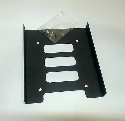 AU7.95 • Buy 2.5  HDD / SSD To 3.5  Bay Mounting Adapter Bracket For Desktop Computer PC Case