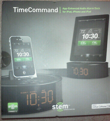 £39.04 • Buy Stem Time Command Audio Alarm Dock For IPod, IPhone And IPad NEW IN BOX GR8 4 GI