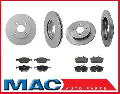 02-04 For Focus SVT  Front & Rear Rotors & Pads 54113 54106 • 167.44$