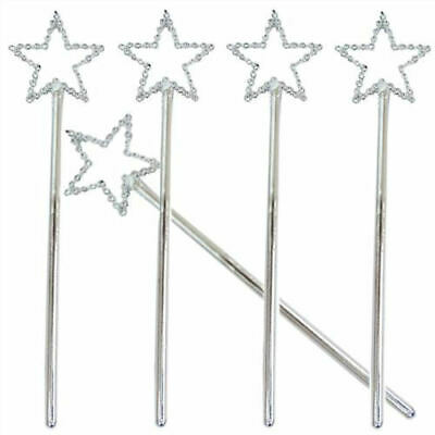 6 Mini Fairy Wands - Small Loot/Party Bag Fillers Wedding/Kids • 2.39£
