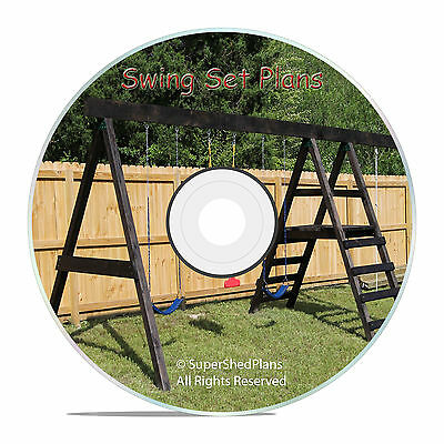 CAD Design Jungle Gym Plans, Swing Set Play Equipment, How To Build Guides • 7.15£