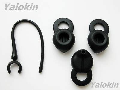£7.24 • Buy 3 New Small Black Spout Earbuds And Earhook For Jawbone Era Headsets