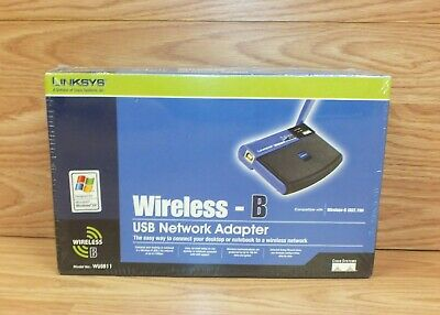 $25.27 • Buy Linksys / Cisco WUSB11 Wireless-B USB Network Adapter **New In The Box**
