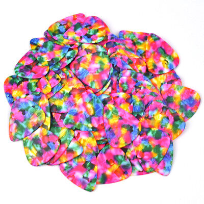 $ CDN6.60 • Buy 24 Pcs New Heavy 0.96mm Tie Dye Blank Guitar Picks Plectrums Celluloid