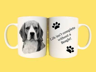 Beagle Dog Ceramic Mug Gift With Choice Of 6 Captions • 5.99£