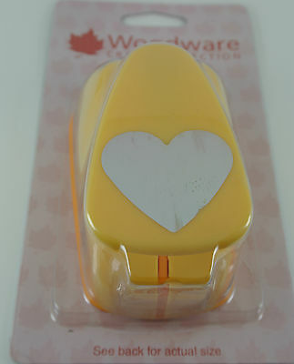 Woodware - Big Lever Style Punches - (peach) Approx 3.5cm Cut Out • 5.80£