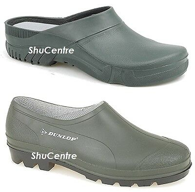 Waterproof Rain Gardening Shoes Clogs Garden Dunlop Green Rubber Summer Wellies  • 10.99£