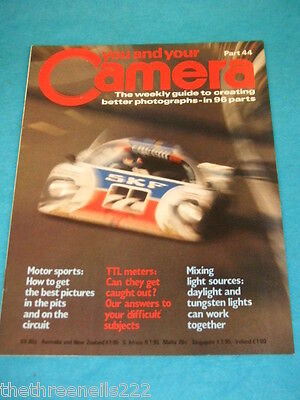 You And Your Camera #44 - Motor Sports • 4.99£