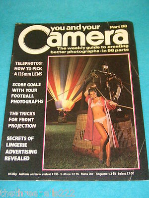 You And Your Camera #88 - Football Photographs • 4.99£