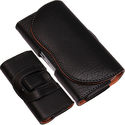 Belt Clip+Loop Hip Case For Mobile Phone Case/Cover Universal PU-Leather Pouch • 5.99£