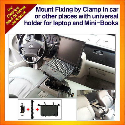 Laptop Mount Fixing By Clamp, Min-Book,Netbook,Notebook, With Universal Holder  • 53.20£