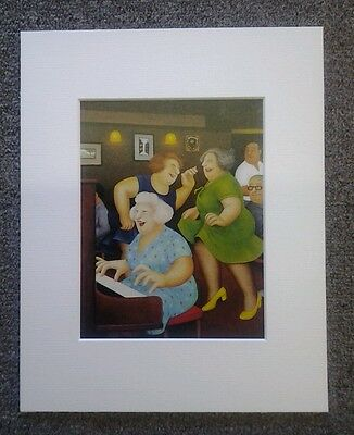 £5.50 • Buy Beryl Cook  Song And Dance  Mounted Card 10 X 8 Funny