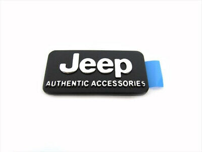 $28.67 • Buy Authentic Jeep Accessories Decal Emblem Nameplate GENUINE OEM Wrangler MOPAR