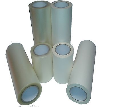 150mm WIDE X 50m ROLL APPLICATION TRANSFER TAPE FOR STICKY BACK PLASTIC & VINYL • 11.50£