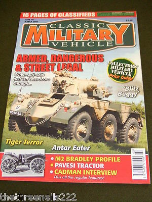 Classic Military Vehicle - Pavesi Tractor - March 2007 • 6.99£