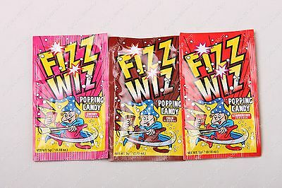 Fizz Wiz Popping Candy - Mix Of Flavours X 6 - Retro Sweets Space Dust • 3.59£