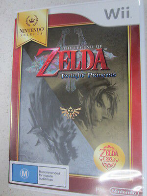 AU69.99 • Buy The Legend Of Zelda: Twilight Princess Selects Wii Game PAL Region (NEW&SEALED)