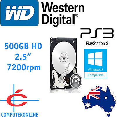 AU99 • Buy Western Digital WD 500GB Scorpio Black 2.5  Hard Drive SATA 7200 FOR LAPTOP/ PS4