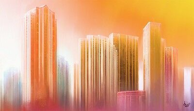 £247.09 • Buy Miami Large Print On Canvas - Rising