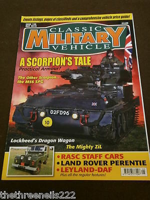 Classic Military Vehicle - Rasc Staff Cars - May 2010 • 6.99£