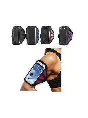 £3.99 • Buy Galaxy S3 I9300 Strong Padded ArmBand Case For SPORTS GYM BIKE CYCLE JOGGING