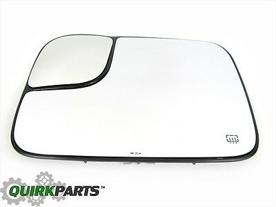 $103.21 • Buy 02-05 Dodge Ram 1500 2500 3500 Power Tow Mirror Heated GLASS Drivers Side