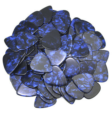 $ CDN12.40 • Buy 50pcs Heavy 1.5mm Guitar Picks Plectrums Celluloid Pearl Blue F Electric Guitar