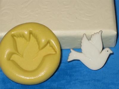 £3.06 • Buy Dove Bird Push Mold Mould Food Safe Silicone Cake Topper A303 Gumpaste Candy