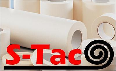 S-Tac Paper Roll Of Application Transfer Tape Many Sizes App Tape Clear A4* • 13.99£