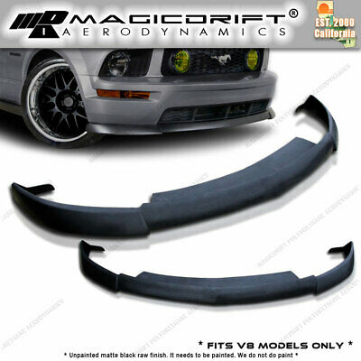$144.88 • Buy For 05 06 07 08 Ford Mustang GT Front Bumper Spoiler CV2 Style Chin Lip URETHANE
