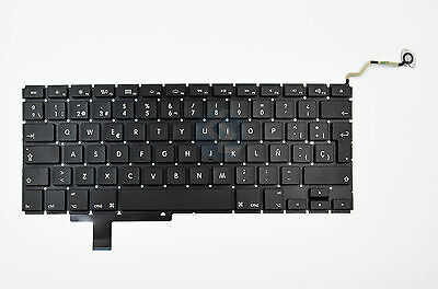 $33.88 • Buy NEW Spanish Keyboard For Apple MacBook Pro 17  A1297 2009 2010 2011