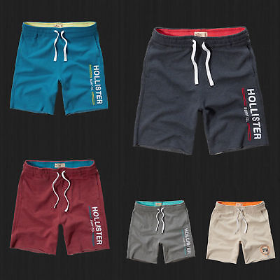 $28.99 • Buy NWT Hollister HCO Athletic Shorts Fleece Gym Sweat Short Pants By Abercrombie