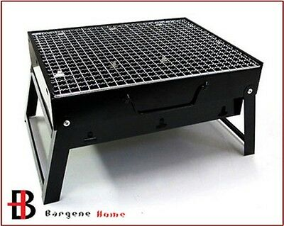 AU22.30 • Buy Outdoor Camping Portable & Foldable Charcoal BBQ Grill Hibachi Picnic Barbecue