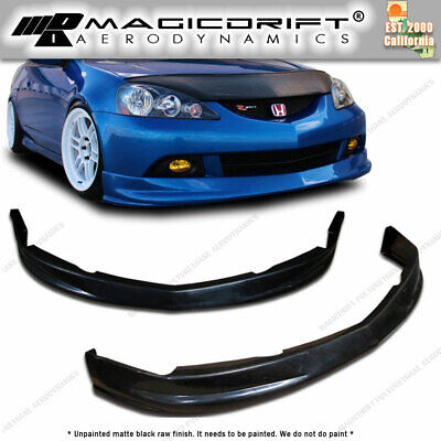 $108.88 • Buy For 05-06 Acura RSX JDM DC5 P1 Style Front Lip Spoiler Kit Poly Urethane PU