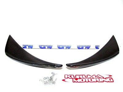 $ CDN389.97 • Buy Apr Carbon Fiber Front Bumper Canards 05-13 Lotus Elise & Exige