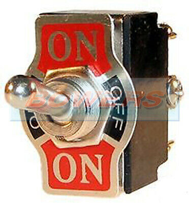 £2.45 • Buy 12v Car 20a Universal Metal On/off/on Centre Off Toggle/flick Switch Double Pole