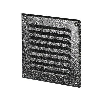 Antique Silver Metal Air Vent Grille Wall Ventilation Cover Louvre Wall Grilles • 3.99£