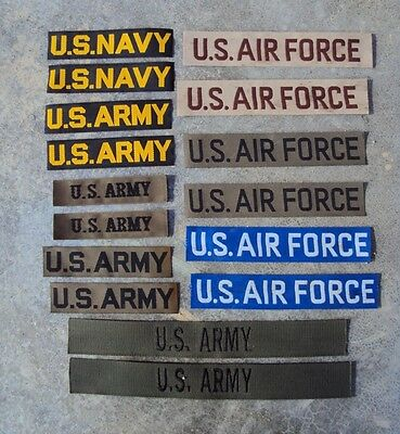 £4.95 • Buy 1950's To Vietnam War US Army Navy Air Force Pair Of Patches / Badges / Tapes