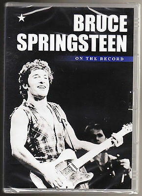Bruce Springsteen - On The Record - New & Sealed R2 Pal Dvd • 2.12£