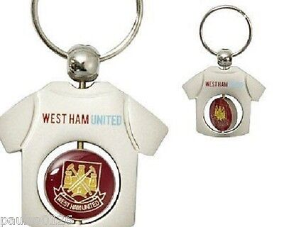£4.77 • Buy New Official West Ham United Football Club Spinner Key Ring