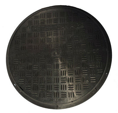 Drain Cover Manhole Inspection Hatch Driveway E10APL Including Frame Single Seal • 122.95£