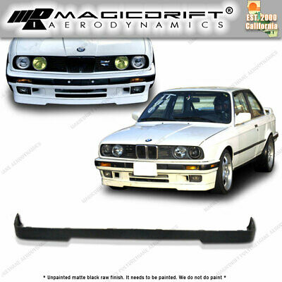 $59.74 • Buy For 84-92 BMW E30 3-SERIES 325i OE IS M-TECH Style Front Bumper Chin Lip Kit